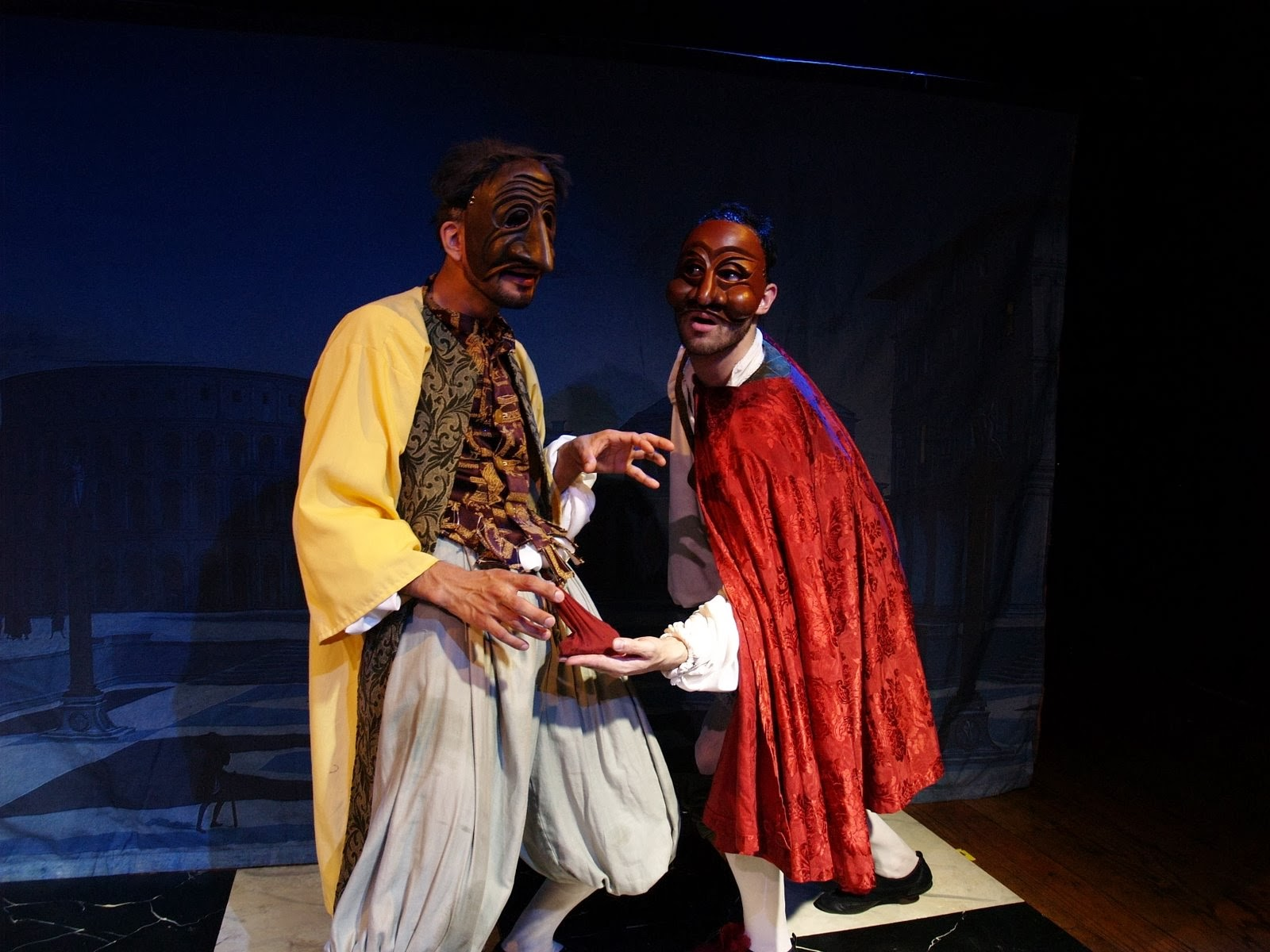 David Bengali & Cameron Oro in COMMEDIA DELL' ARTEMISIA